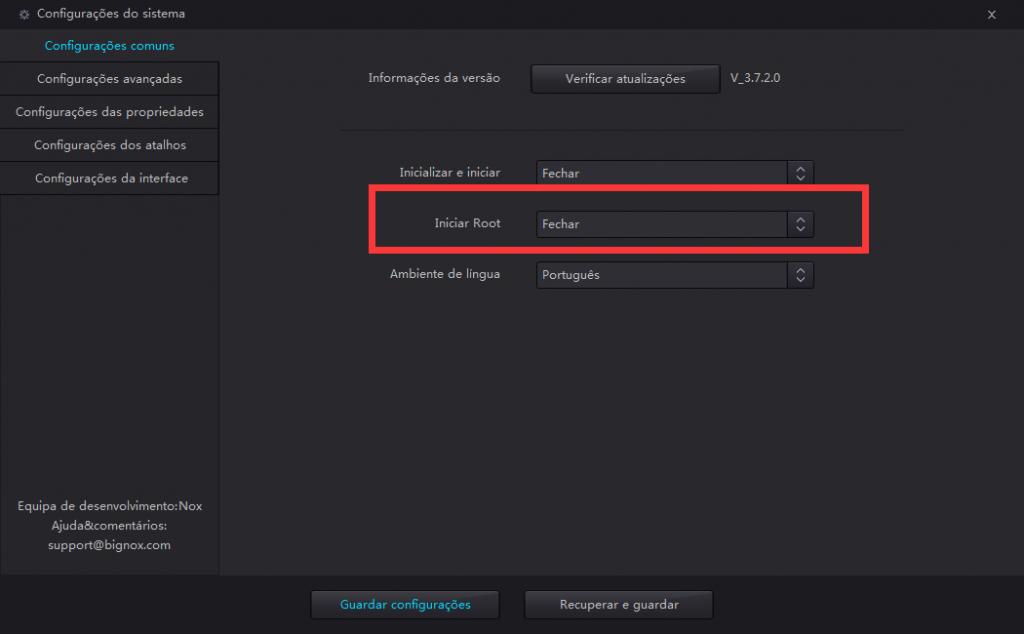 Como fazer root para nox app player noxplayer emulador de modo de root ir conceder lhe a funo de super usurio em nox stopboris Choice Image